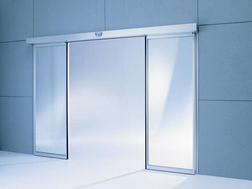 Build int ex automatic doors