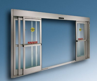 Build int ex automatic doors for Motorized sliding glass door